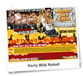 Party Wild Naked