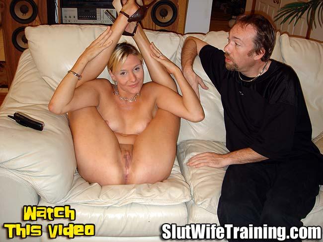 Girls using giant dildo