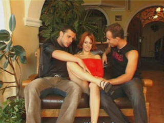 Double Anal Penetration - Theres a lot of anal going on in this video. If you like ass stretching and anal gapping I wouldnt miss it for the world. Starring a European redhead this girls personality matches the color of her hair. She loves getting fucked anal and a little bit of pain makes her pussy so so wet. Two guys get to tap that asshole at the same time and she loves it.video