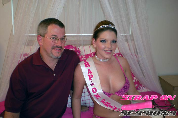 The Strap On Princess Makes Robbies Fantasy Cum True