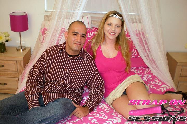 The Strap On Princess Makes Tony Love the Fake Cock