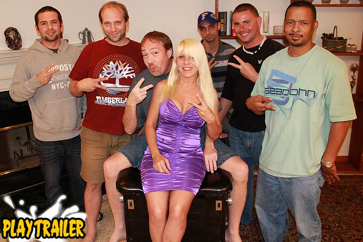 Big Tit MILF Gang Bang Party