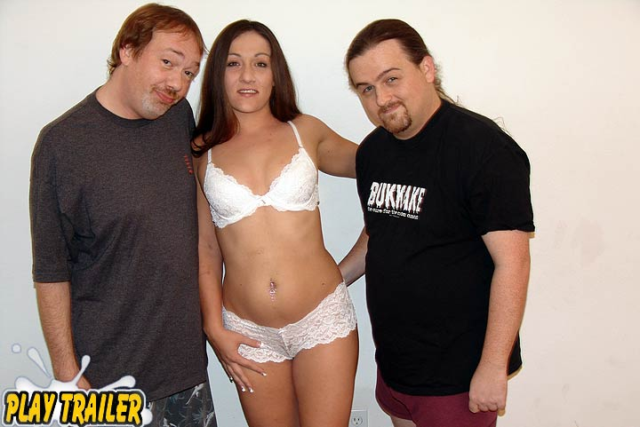 Daddys Girl Gets a Two Cock Tag Team Slumber Party