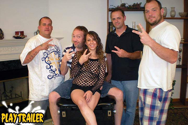 Her First Time Gang Bang Party
